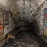 Disused passageway, Notting Hill Gate tube station, 2010